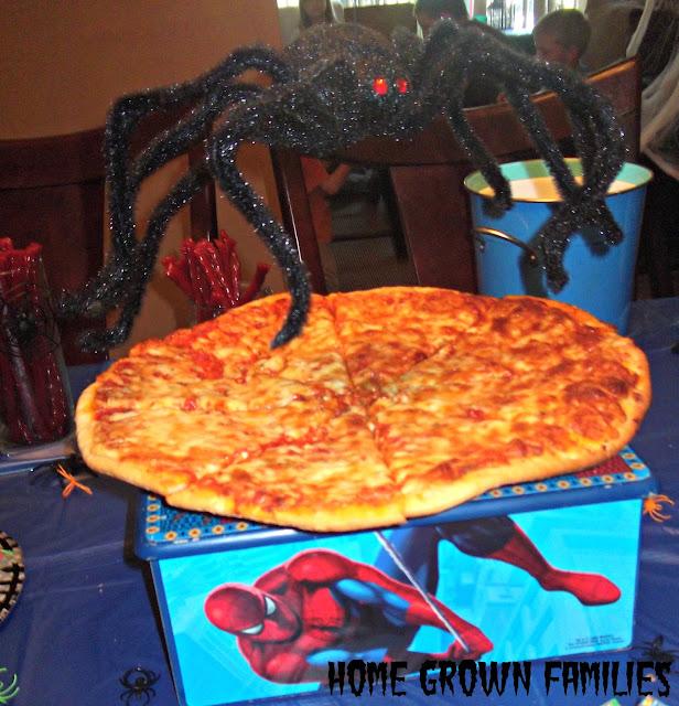 walmart spiderman pizza
