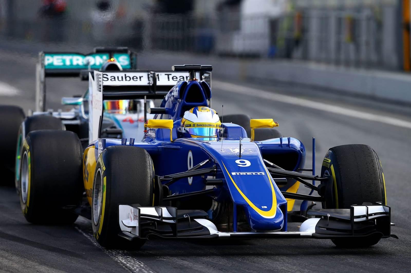 Sauber Ferrari - Felipe Nasr