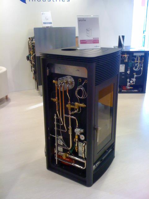 Lenha Kit Hidr Ulico Instalado Para Funcionar Em Vaso Fechado