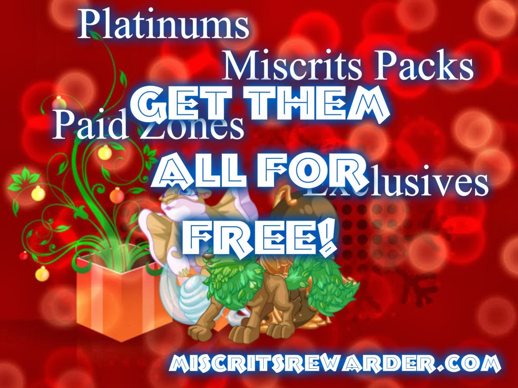 Get all your favorite miscrits stuffs for free!