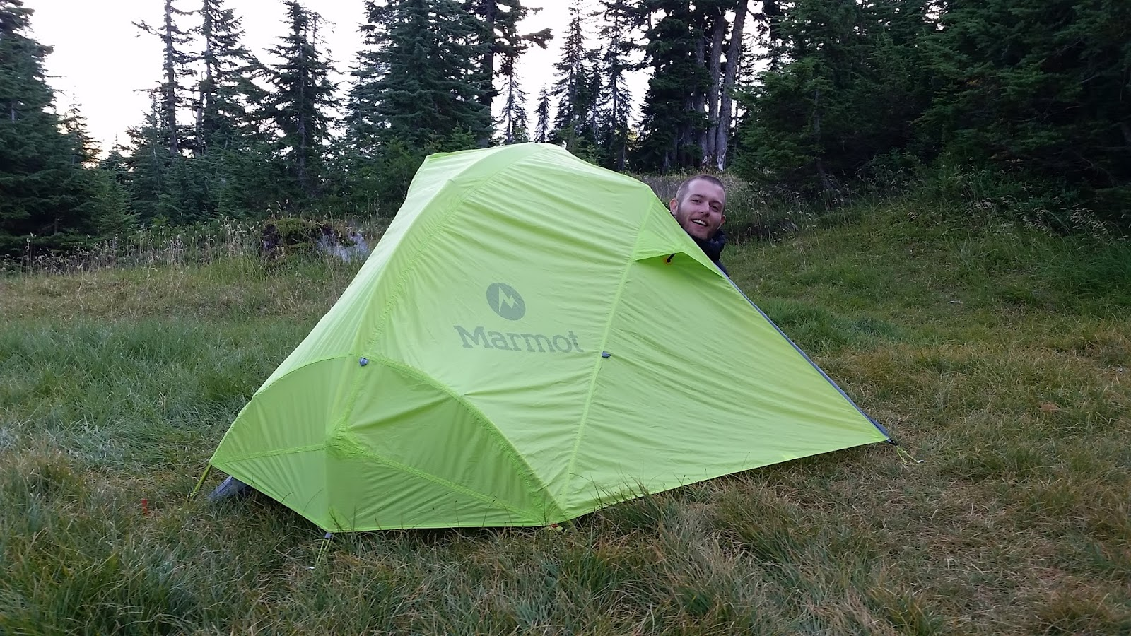 Marmot Force 2P on the PCT  sc 1 st  Sunrise Gear & Marmot Force 2P and 3P Tent Review