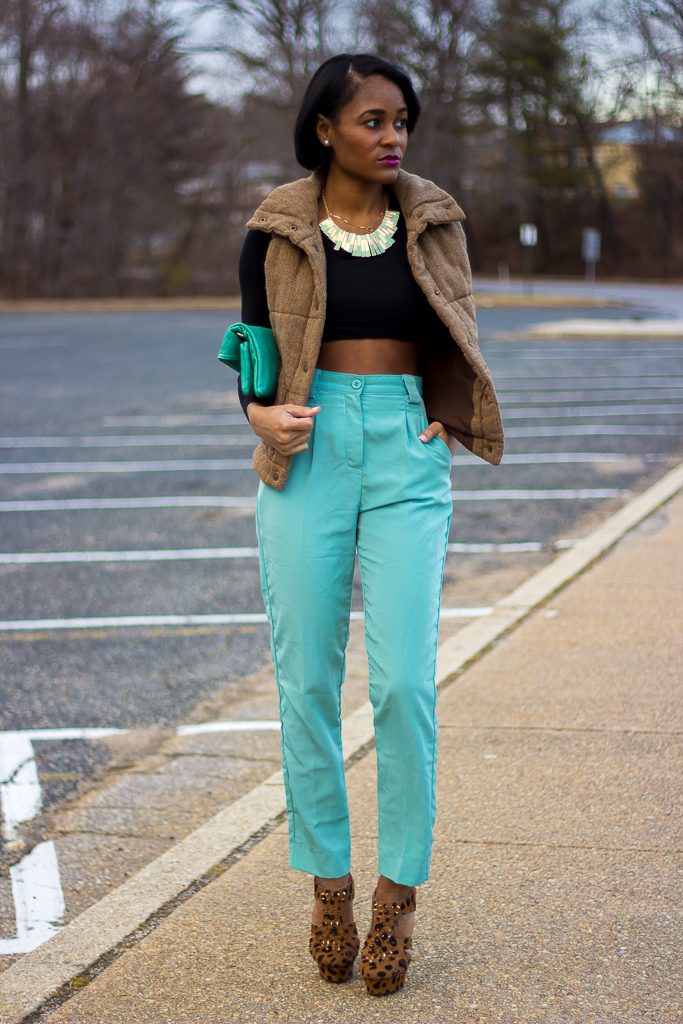 american+apparel+pants_mint_leopard+shoes