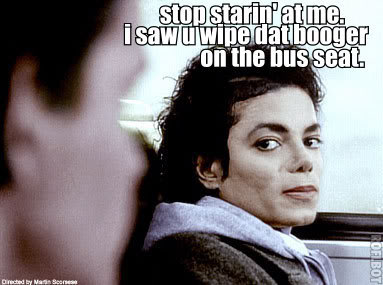 Michael Jackson Booger meme