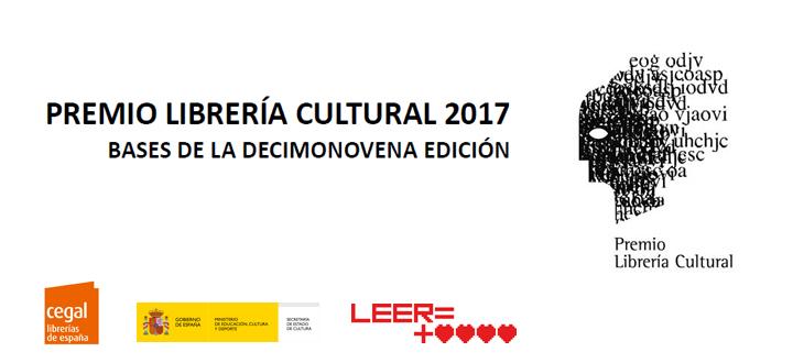 Premio Librería Cultural 2017