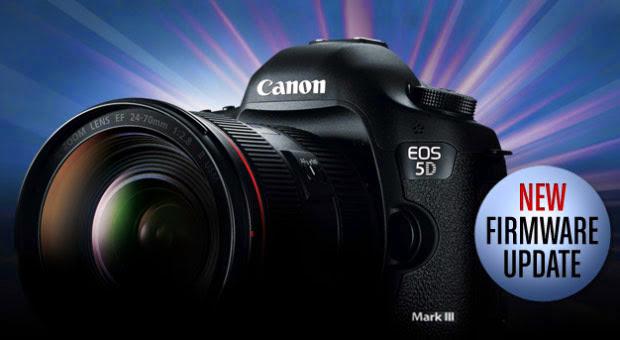 Nuevo Firmware para la Canon 5D Mark III,Foto Workshops México,Noticias sobre fotografía