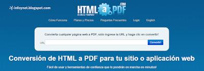 HTML A PDF