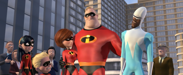 the superhero family in the incredibles a pixar animated film by brad bird Incredibles 2, the follow-up to pixar's first smash hit superhero family  the select  club of animated movies to pass that box office milestone  watch our interview  with incredibles 2 director brad bird and producer john walker.
