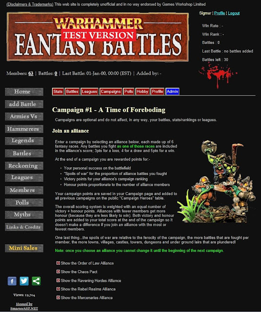 WFBattles - Campaigns and Alliances picture