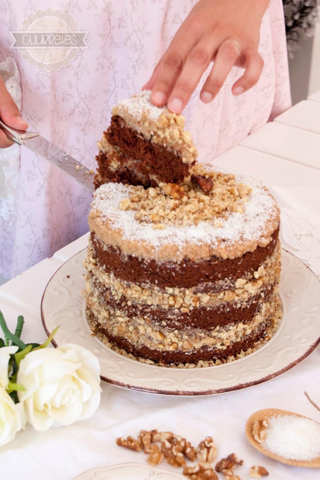 Churretes de Cocholate: GERMAN CHOCOLATE CAKE