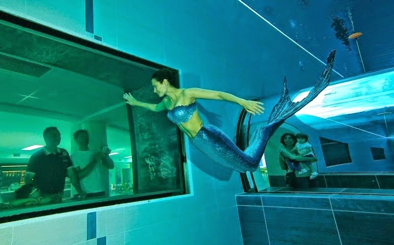 Deep Joy أعمق مسبح في العالم - فندق Millepini Terme في ايطاليا