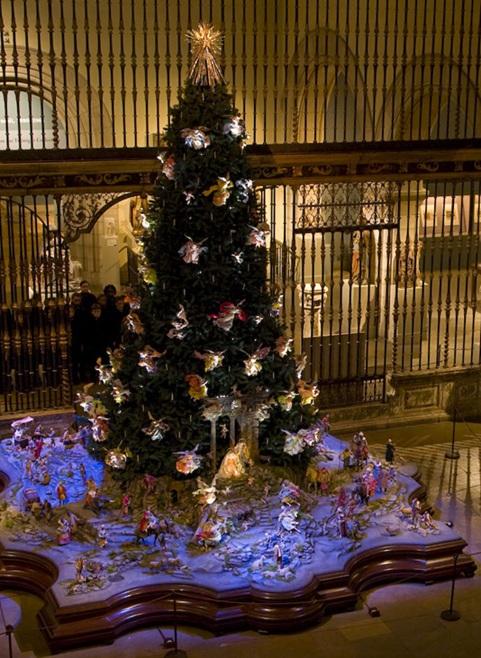 Georgina Kelman Works On Paper December 2012 - Medieval Christmas Tree