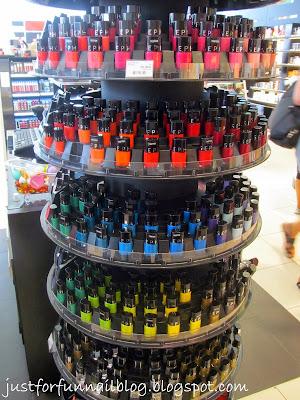 Shopping in Warsaw: Nail Polish! Sephora