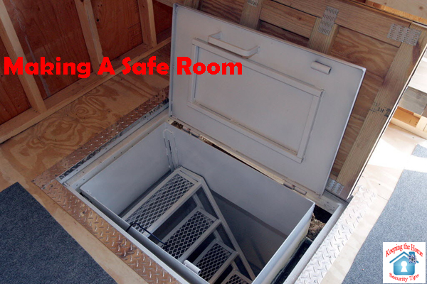Keeping the home security tips making a safe room for Best safe rooms