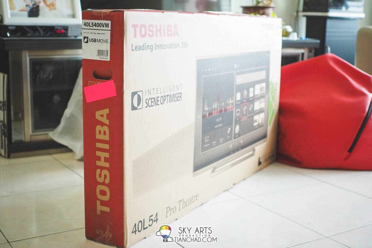 Unboxing the Toshiba Pro Theatre L5400 Series