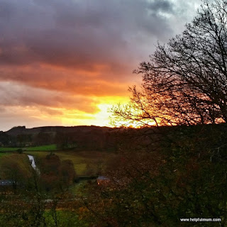 sunset Yorkshire Dales