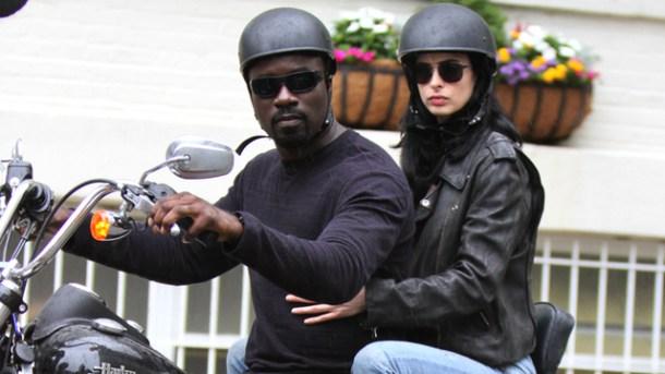 Luke y Jessica Jones