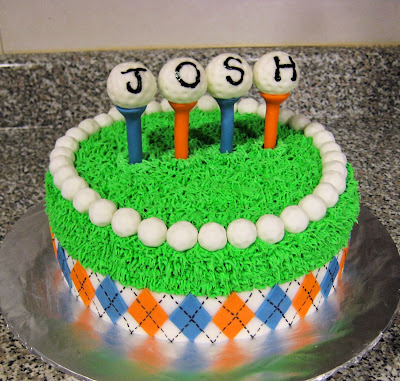 Golf Themed Cake 3