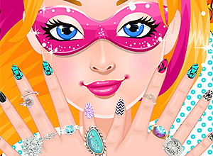 Super Barbie Super Nails