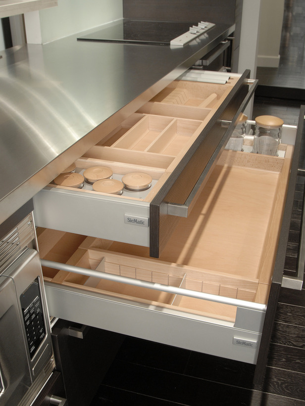 Image Result For Kitchen Cabinet Utensil Drawers