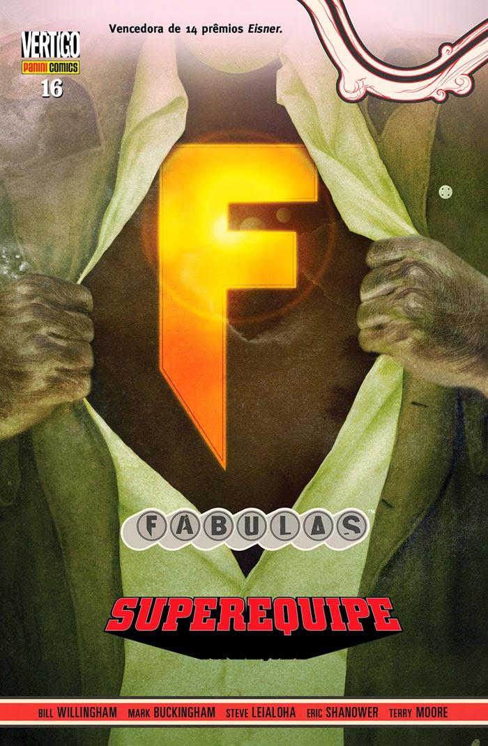 Fábulas Superequipe Vol.16