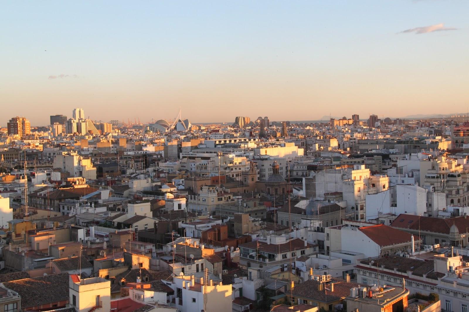 Vista aérea de Valencia