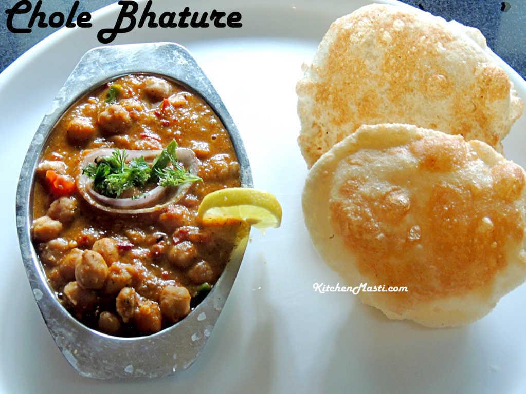 Punjabi chole bhature recipe vegetarian recipes punjabi chole bhature recipe forumfinder Choice Image