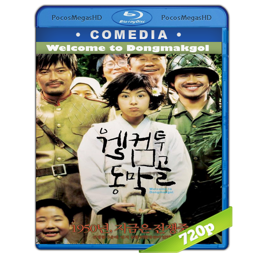 Welcome to Dongmakgol (2005) BrRip 720p Audio Coreano Subtitulada