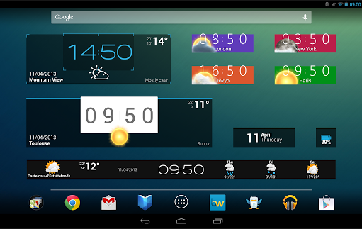 Best Android Widgets 2013