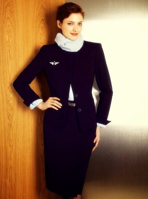 Air stewardess air france 8