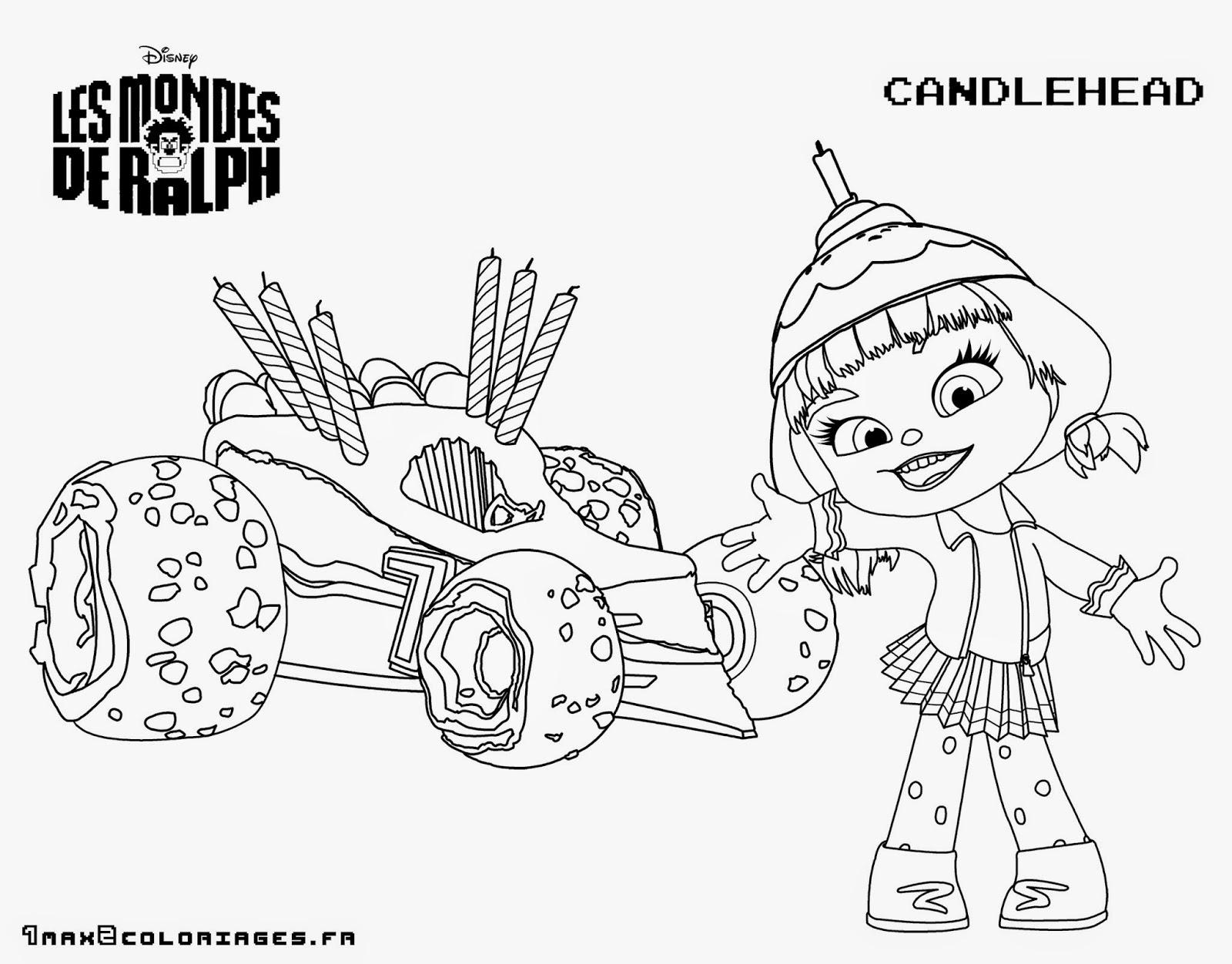 Dibujos para colorear. Maestra de Infantil y Primaria.: Wreck it ...