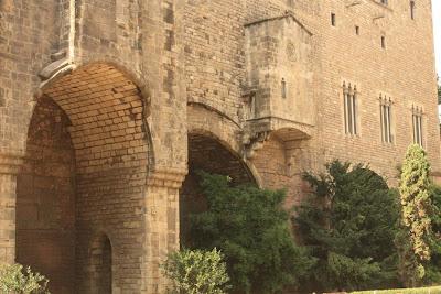 Barcelona Roman wall
