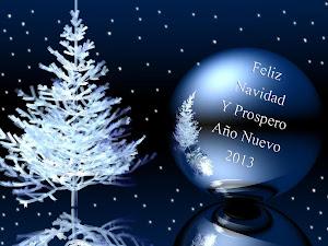 Feliz Navidad y un próspero Año Nuevo 2013