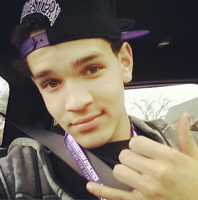 4* 2014 WR Derek Kief posting a picture of himself after the Northwestern visit