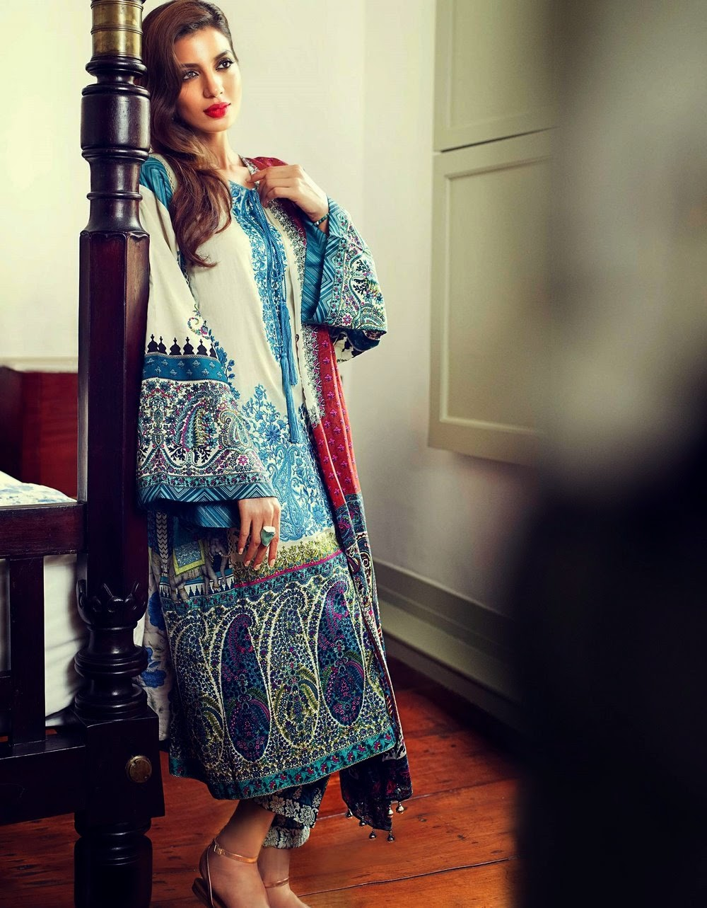 Pakistani lawn 2015 collection