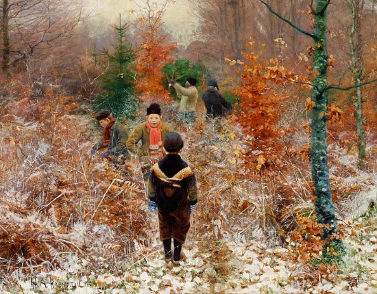 Hans Anderson Brendekilde (1857-1942) Danish Painter ...