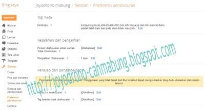 opsi baru blogger 1