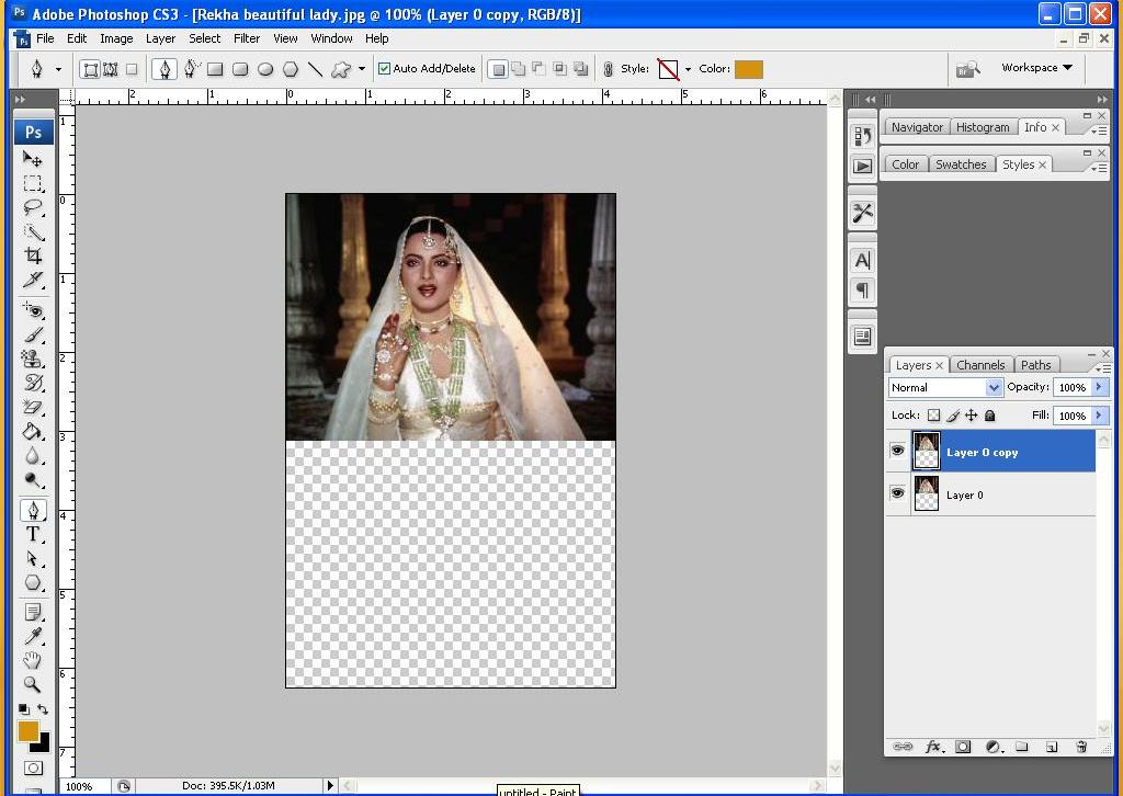 how to make text in photoshop merg into background