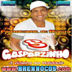 Banda Gasparzinho - Ao Vivo Em São Paulo - CD Agosto 2013