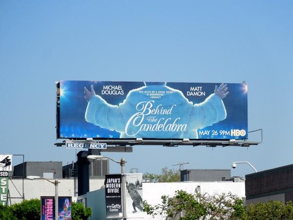 Behind Candelabra HBO billboard