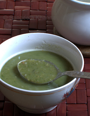 spinach and buckwheat soup | fasting recipe for navratri...