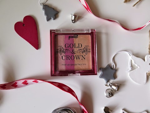 P2 Gold & crown most georgeous face trio 02 delicate touch