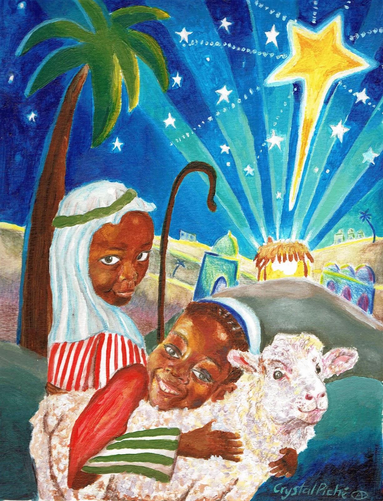 Haiti Christmas Card Fundraiser Crystal Pich Visual Artist