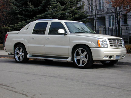 best car models all about cars cadillac escalade ext. Black Bedroom Furniture Sets. Home Design Ideas