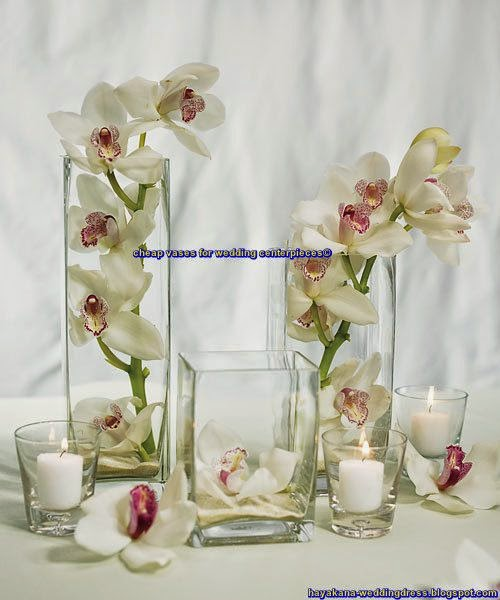cheap vases for wedding centerpieces