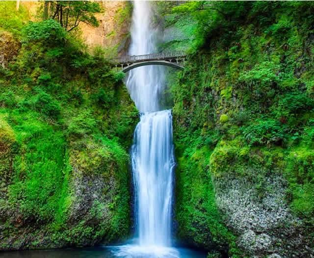 Cachoeira Multnomah Falls - Portland, Oregon
