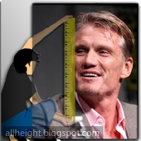 What is the height of Dolph Lundgren?