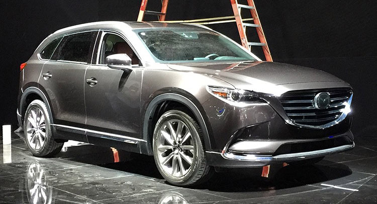 AllNew 2016 Mazda CX9 In The Flesh