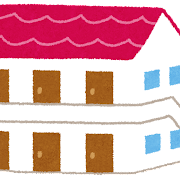 アパートのイラスト(建物)