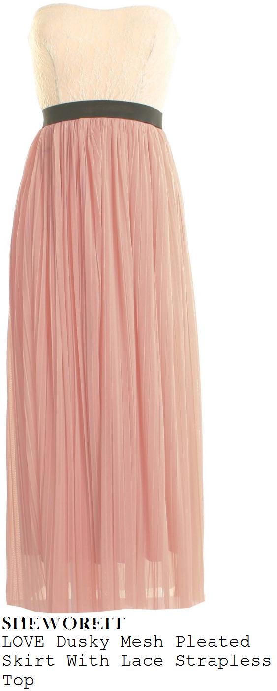 Sam Faiers Lace Dress Sam Faiers' Love Cream Lace