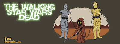 The walking star wars dead